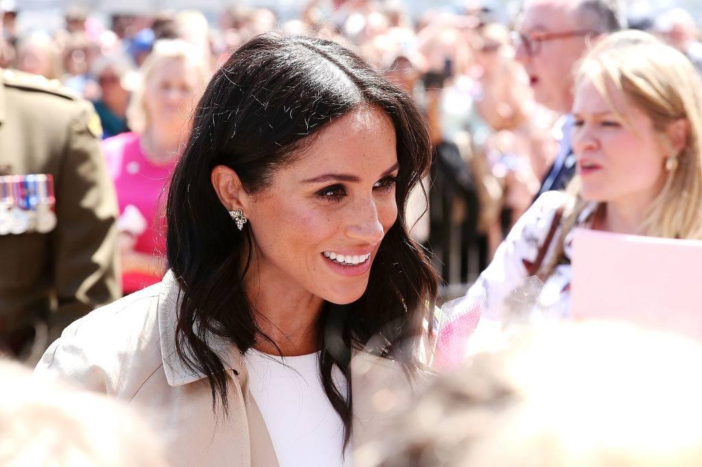 Meghan Markle está esperando o seu primeiro filho com príncipe Harry. (Foto: Getty Images)