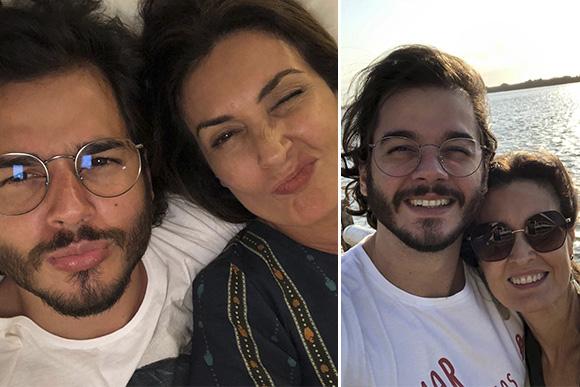 Fátima Bernardes e Túlio Gardelha (Foto: Reprodução/ Instagram @fatimabernardes)