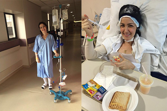 Aline conta como se sentiu durante a quimioterapia (Foto: arquivo pessoal)