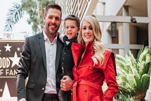 Isaiah Michael Fisher, primeiro filho de Carrie com Mike Fisher, tem 3 anos (Foto: Reprodução/ Instagram @carrieunderwood)