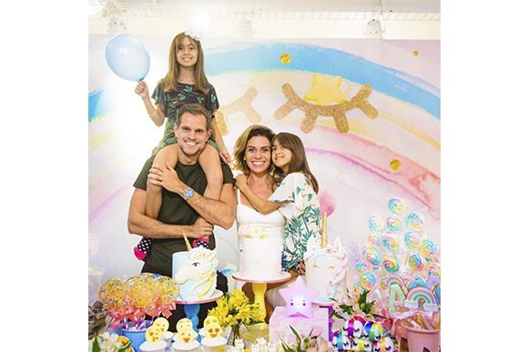 Filha de Giovanna Antonelli comemora 8 anos (Foto: Reprodução/ Instagram @giovannaantonellioficial)