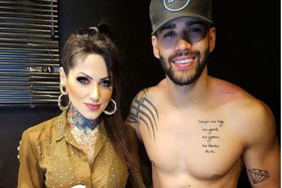 Bruna barros foi escolhida como tatuadora (Foto: Reprodução/ Instagram @brunabarrostattoo)