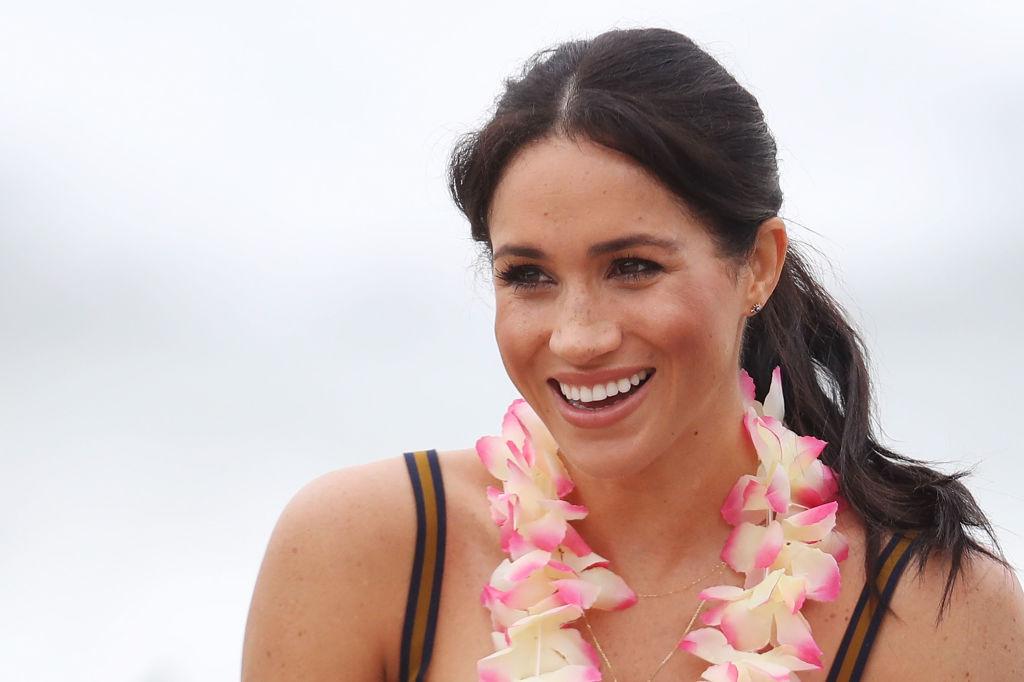Meghan Markle está esperando o seu primeiro filho com o príncipe Harry, (Foto: Getty Images)