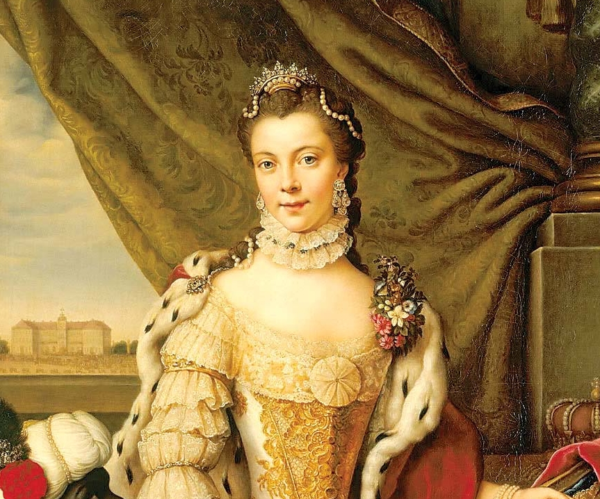 Charlotte, esposa do George III, era de descendência africana. (Foto: Reprodução)