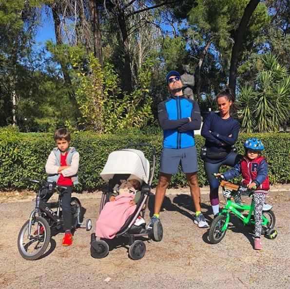 Francisca compartilhou o momento íntimo da família com os seguidores.(Foto: Instagram Reprodução @franciscaprpereira)