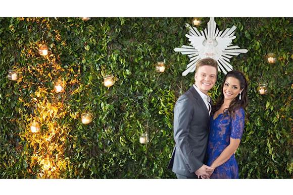 Fotos do casamento de Thais Fersoza e Michel Teló (Foto: Reprodução/ YouTube Tatá Fersoza)