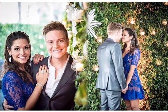 Thais Fersoza mostra fotos do seu casamento com Michel Teló (Foto: Reprodução/ YouTube Tatá Fersoza)