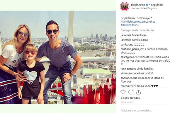 Ticiane Pinheiro e César Tralli desejam ter filhos (Foto: Reprodução Instagram)
