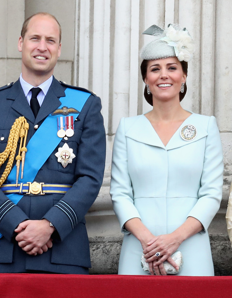 Príncipe William com Kate Middleton (Foto: Getty Images)