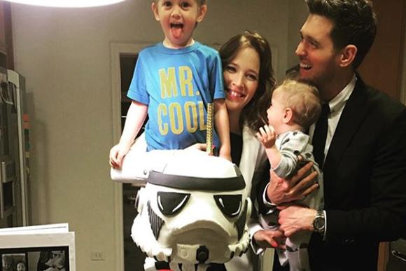 Michael Bublé quer aproveitar os momentos com seus filhos. (Foto: Reprodução/ Instagram)