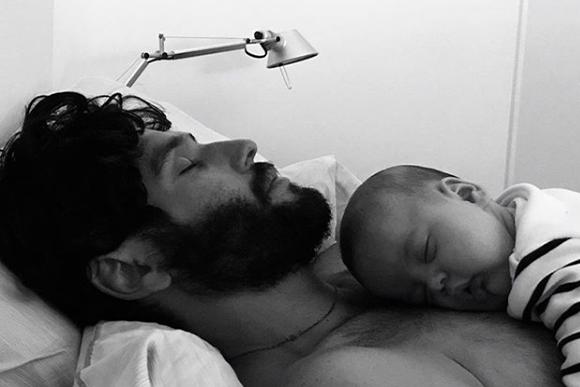 O ator posta constantemente registros com o filho. (Foto: Reprodução/ Instagram)