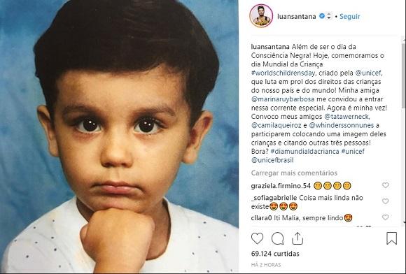 Luan Santana | Foto: Reprodução Instagram / @luansantana