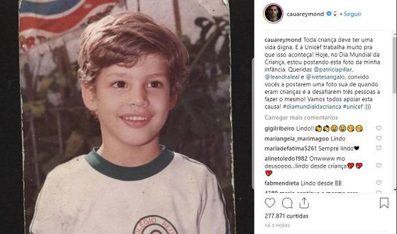 Cauã Reymond | Foto: Reprodução Instagram / @cauareymond
