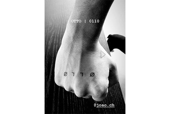 Junior lima faz tatuagem em homenagem ao filho Otto (reprodução / Instagram)