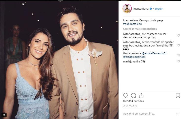 Luan e Jade estão juntos desde 2012 (Foto: Reprodução/ Instagram)