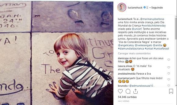 Luciano Huck | Foto: Reprodução Instagram / @lucianohuck