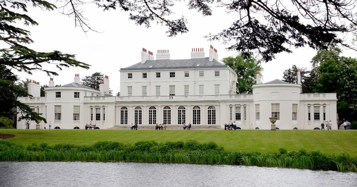 Essa é a mansão Frogmore Cottage, o novo lar de Meghan, Harry e o mais novo bebê real. (Foto: Getty Images)