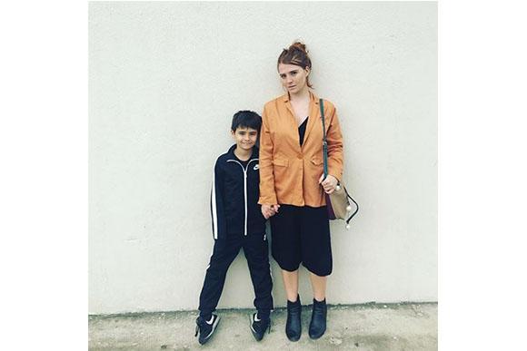 """""""Deixem a gente em paz"""", desabafou a atriz em seu Instagram (Foto: Reprodução / Instagram @mariahdemoraes)"""