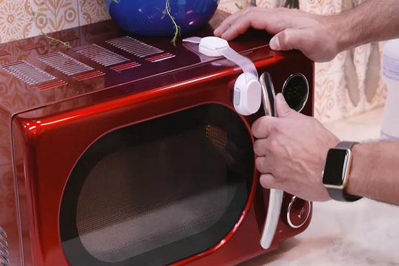 Nada de secar o cachorro no microondas (Foto: Reprodução/ Youtube)