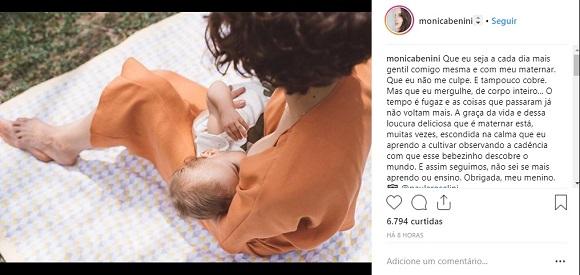 Foto: Reprodução Instagram / @monicabenini