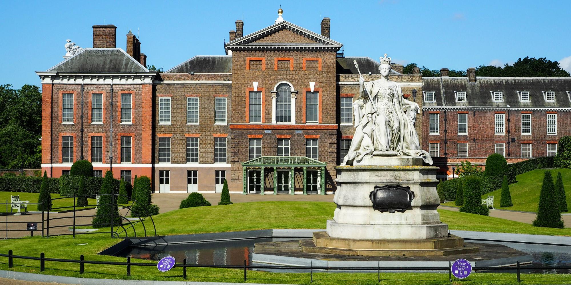 Palácio de Kensington onde Harry e Meghan vivem atualmente. (Foto: Shutterstock)
