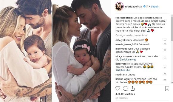 Foto: Reprodução Instagram / @rodrigaooficial