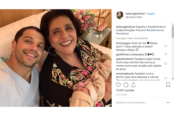 (Foto: Reprodução Instagram / @ledanagleoficial)