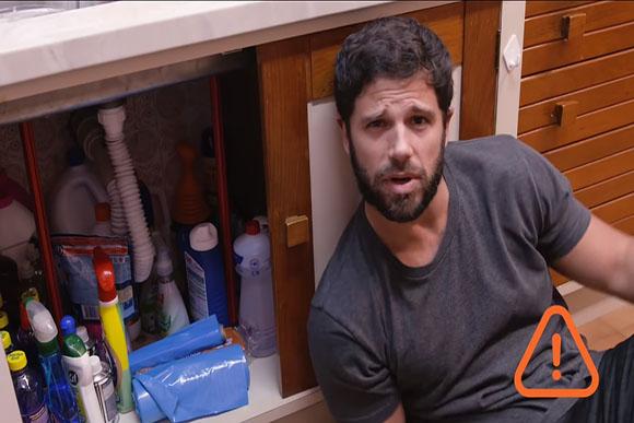 Produtos de limpeza podem ser tóxicos (Foto: Reprodução/ Youtube)