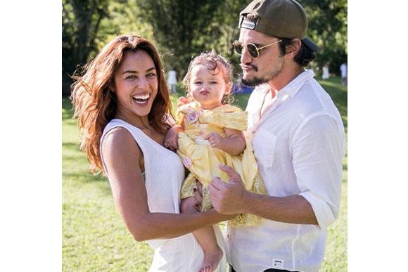 Madalena com seus pais (Foto: reprodução instagram)