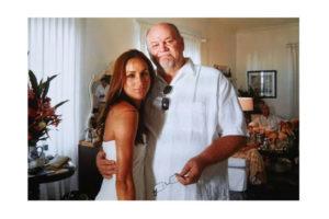 Meghan e seu pai Thomas (Foto: Reprodução)