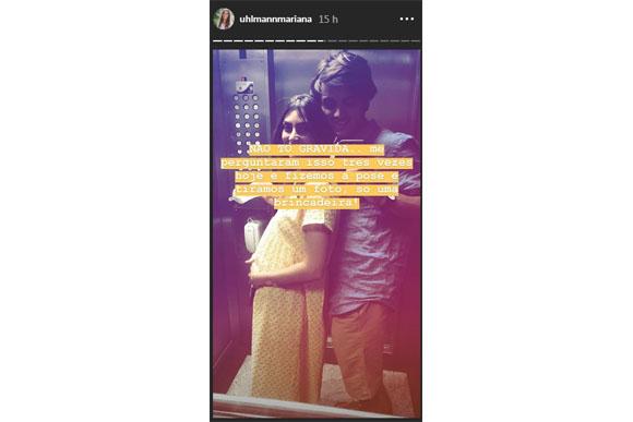 Mariana Uhlmann esclareceu a polêmica no seu instagram. (Foto: reprodução instagram)