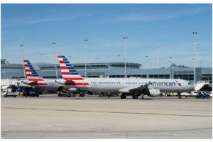 Aviões da American Airlines. (Foto: reprodução)