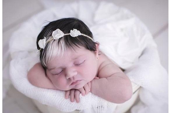 Mayah Aziz, a bebê do momento. (Foto: reprodução instagram)