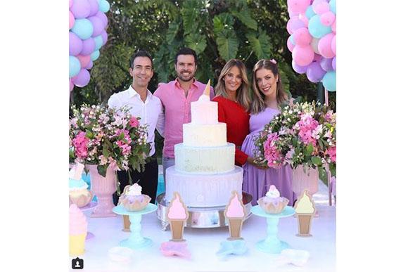 Ticiane também apareceu na comemoração (Foto: Reprodução/ Instagram)