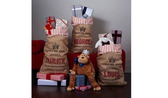 Sacos de presentes dos príncipes (Foto: Reprodução)