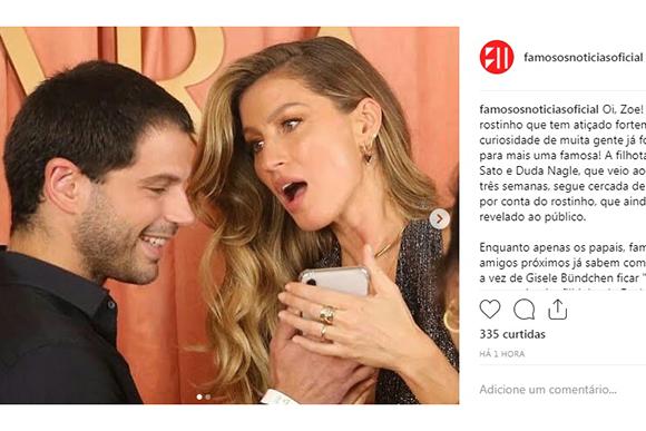 (Foto: Reprodução Instagram / @famososnoticiasoficial)