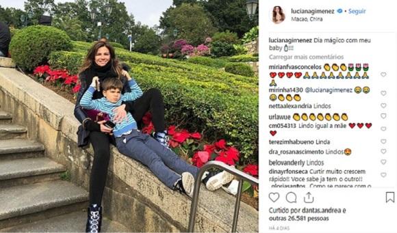 (Foto: Reprodução Instagram / @lucianagimenez)