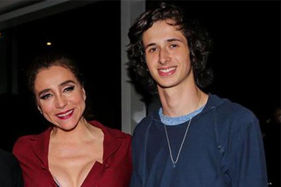 Marisa Orth e o filho, João Antônio (Foto: Reprodução / Instagram)