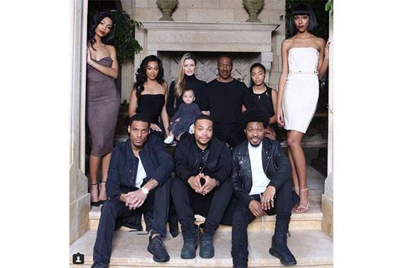 Eddie já tinha 8 filhos de outros relacionamentos (Foto: Reprodução @bria_murphy)