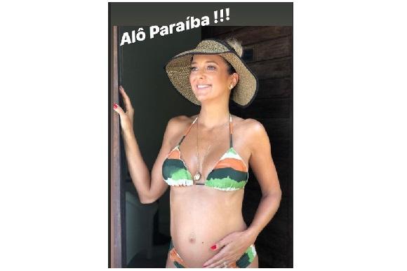 bde043078b0a8 Ticiane Pinheiro mostra barriga de grávida e revela quando o bebê ...
