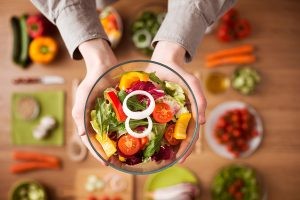Uma alimentação saudável faz toda a diferença