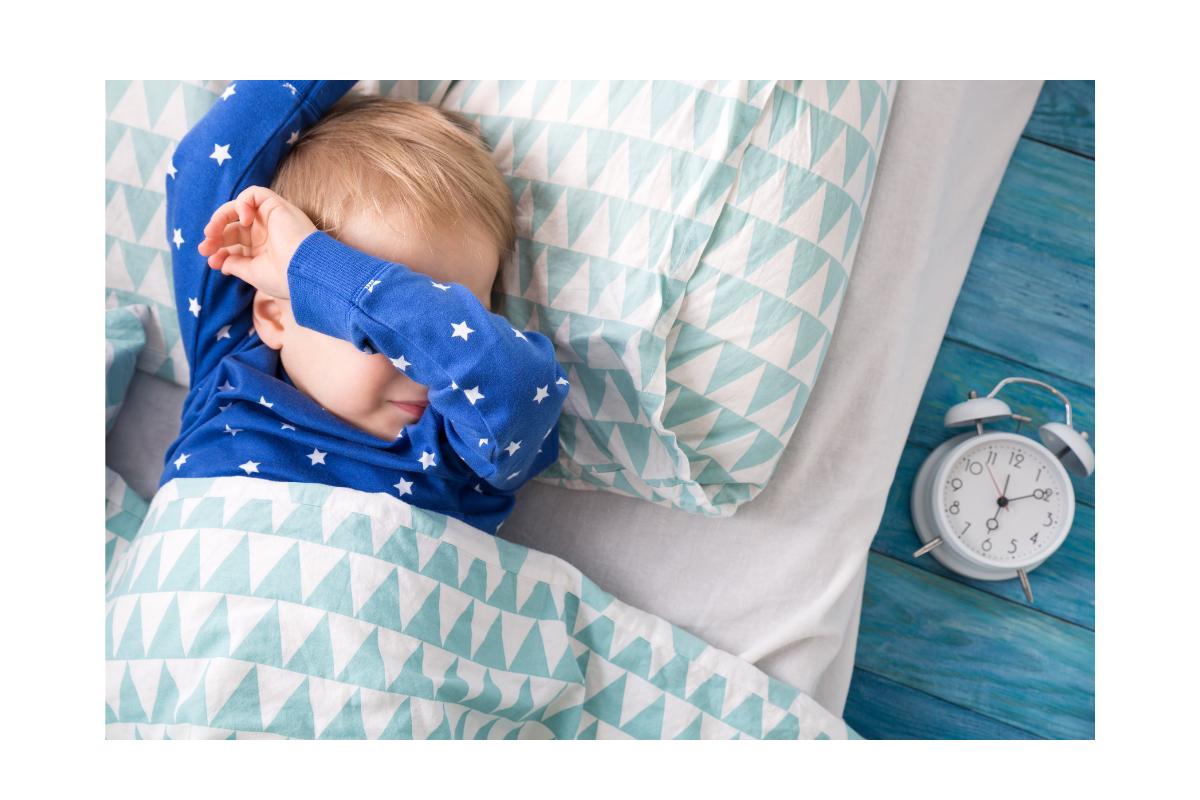 A mãe acreditou que vestindo as crianças com as roupas do dia seguinte para dormir pouparia tempo