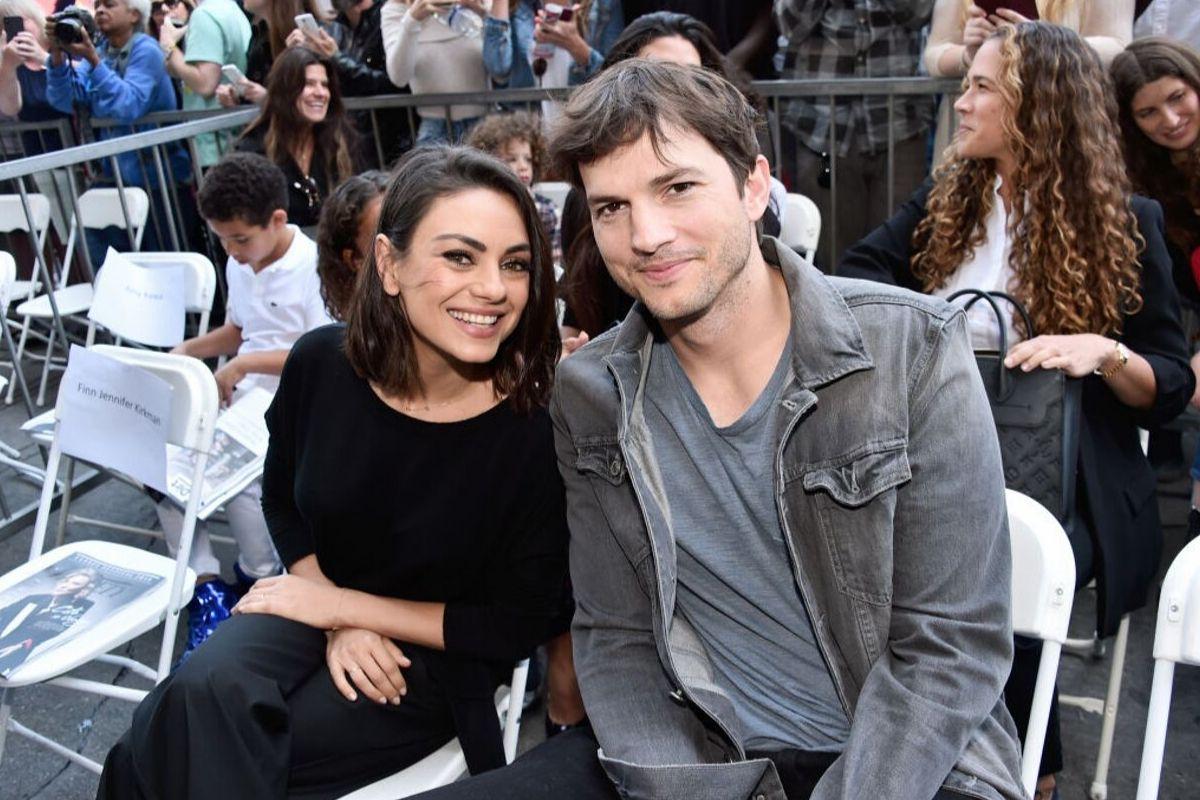 Mila Kunis é casada com Ashton Kutcher