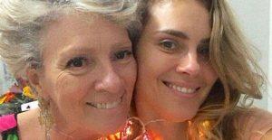 Carolina Dieckmann e mãe