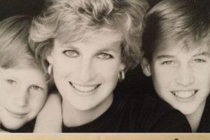 Diana é mãe de Príncipe William e Príncipe Harry