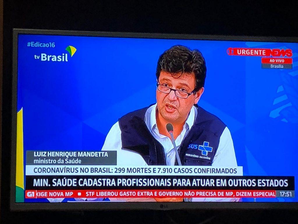 Brasil tem 7.910 casos confirmados e 299 mortes por coronavírus – Pais&Filhos