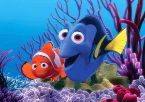 Pixar mostra como são os personagens de Procurando o Nemo na vira real