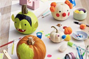 Uma ótima atividade de Halloween e decoração para toda a família
