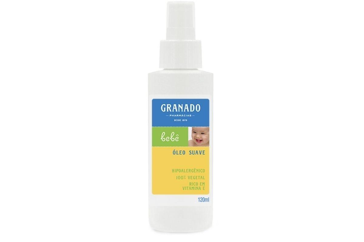 A Granado tem uma linha de óleos suaves, hipoalergênicos e 100% vegetais.