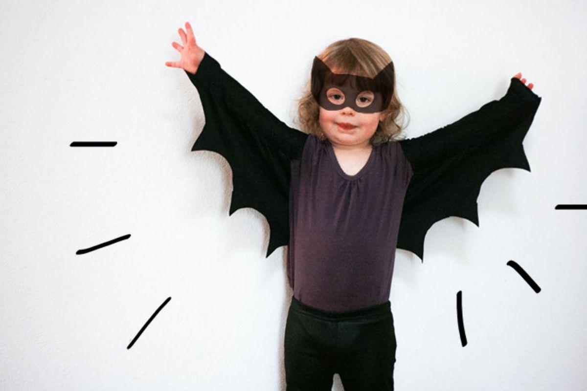 Fantasia assas de morcego